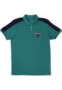 Camisa Polo Masculina Wrangler - Masculino-Verde