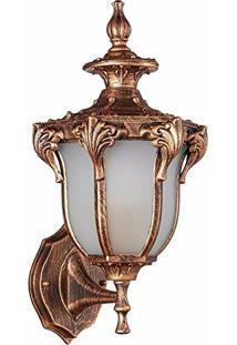 Arandela Colonial Ouro Velho 38Cm Cannes Ac809P Biancoluce