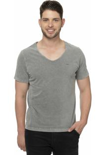 Camiseta Alfaiataria Burguesia Metalist Cinza