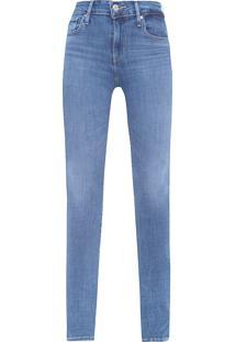 Calça Feminina 721 High-Rise Skinny - Azul