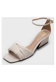 Sandália Dumond Puffy Off-White