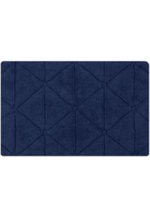 Tapete De Banheiro Barcelona- Azul Marinho- 100X60Cmsultan