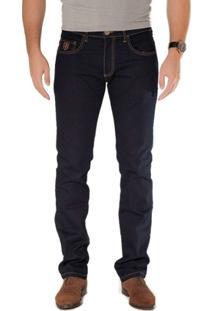 Calça Básica Jeans Azul Marinho Via Tolentino - Masculino