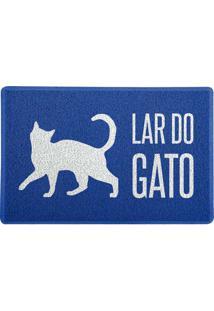 Capacho Lar Do Gato Azul 0,40X0,60M Beek