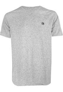 Camiseta Quiksilver Supertransfer Heat Masculina - Masculino-Cinza