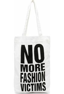 Katharine Hamnett London No More Fashion Victims Tote Bag - Branco