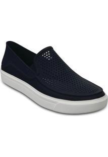 Tênis Slip-On Crocs Citilane Roka - Masculino-Marinho+Azul