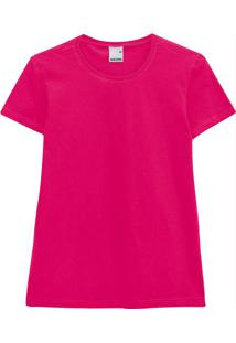 Blusa Pink Em Malha