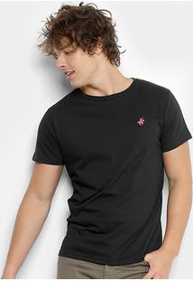Camiseta Polo Up Gola Careca Masculina - Masculino