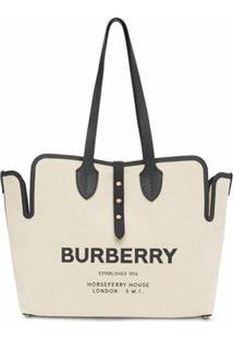 Burberry Pochete Média - Neutro