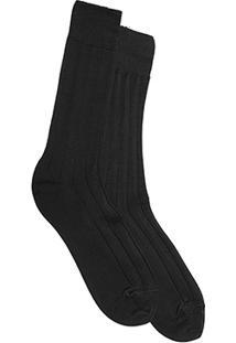 Meia Social Shoestock Premium Algodão - Masculino