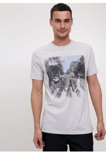 Camiseta Com Estampa Beatles