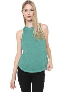 Regata Calvin Klein Jeans Assimétrica Verde