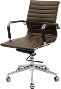 Cadeira Eames Baixa Cafe Base Cromada