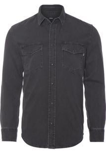 Camisa Masculina D-Rooke - Preto
