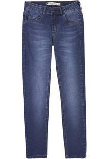 49d7077e7 Hering. Calça Jeans Cigarrete Feminina Em Algodão Com Lavação