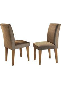 Cadeira Grécia Animale Chocolate Imbuia