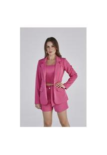 Blazer Pink Donatella Cloá