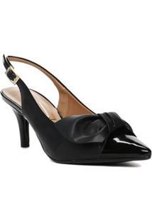 Sapato Chanel Feminino Vizzano Preto
