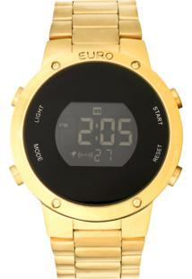 Relógio Euro Eubj3279Aa/4D Dourado