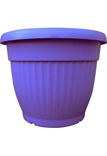 Vaso Decorativo Denise West Garden Violeta 30Cm