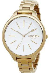 Relógio De Pulso Ripcurl Horizon - Aço - Feminino-Dourado