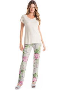 Pijama Daniela Tombini Agata Off-White