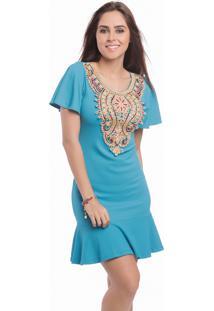 bc5e5ebbfdf6 Vestido Azul Mandi feminino | Shoelover