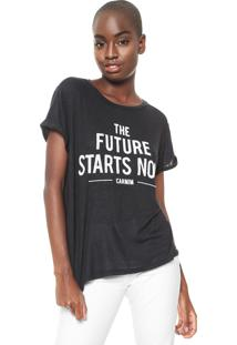Camiseta Carmim Future Grafite