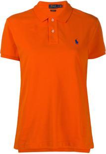 Polo Ralph Lauren Embroidered Polo Shirt - Laranja