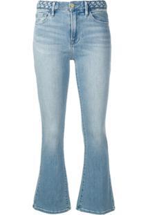 Frame Calça Jeans 'Le Crop' - Azul