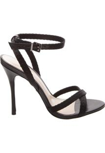 Sandália Slim Stiletto Black | Schutz