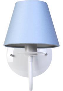 Arandela 1 Lâmpada Azul Quarto Bebê Infantil Menino