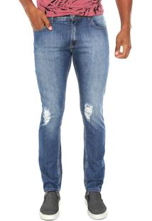 Calça Jeans Staroup Reta Confort Azul