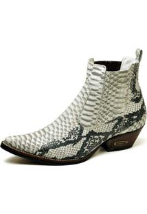 Bota Top Franca Shoes Country - Masculino-Cobra