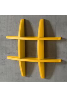 Prateleira Decorativa Pequena Taylor 600 Amarelo - Maxima