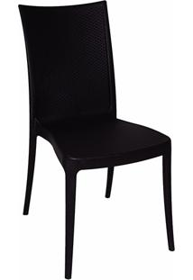 Cadeira Laura Ratan Preta - Tramontina