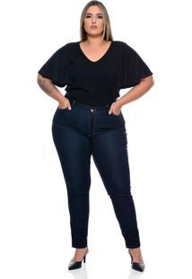 Calça Plus Size Skinny Elástico - Kanui