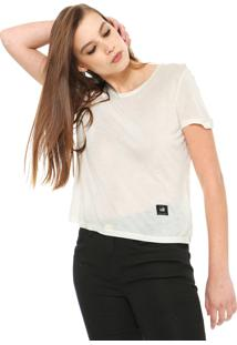 Camiseta Ellus 2Nd Floor Jersey Fine Off-White