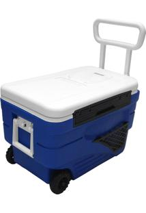 Caixa Térmica Easy Cooler 36L C/Rodas E Termometro