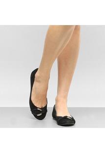 Sapatilha Couro Shoestock Elo Feminina - Feminino