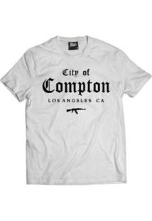 Camiseta Skull Clothing City Of Compton Masculina - Masculino