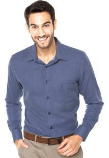 Camisa Vr Bolso Azul