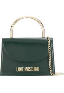 Love Moschino Bolsa Evening Com Alça De Mão - Verde