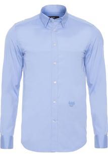 Camisa Masculina Boulder - Azul