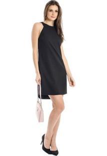 Vestido Costas À Mostra Calvin Klein - Feminino-Preto