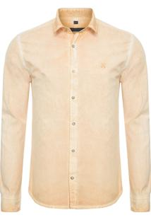 Camisa Masculina Jason Sunflower - Amarelo