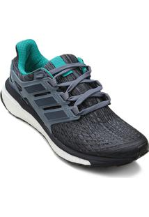 Tênis Adidas Energy Boost Masculino - Masculino-Prata+Azul