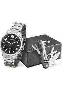 Kit Relógio Masculino Mondaine 53520G0Mvne1K