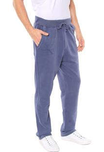 Calça Calvin Klein Jeans Moletom Azul